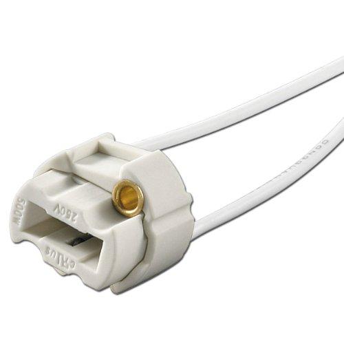 10 Stück Lampenfassung G9 rund max. 230V/500W