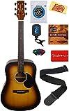 Jasmine S35 Acoustic Guitar - Matte Sunburst Bundle with...