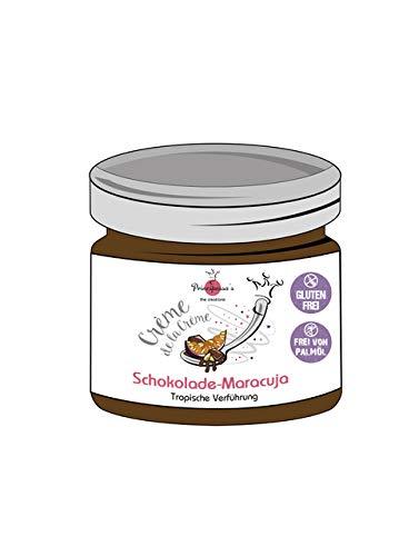 Crème de la Crème - Schokolade-Maracuja, 150 g tropische Verführung (Schokolade-Maracuja)