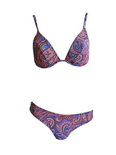 Solar Tan Thru Bügel-Bikini blau, Gr. 38 B-Cup
