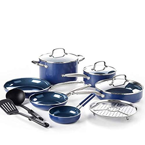 Blue Diamond Cookware Set, 12-Piece