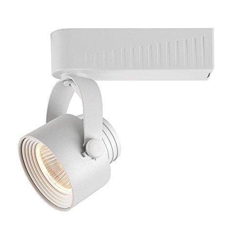Hampton Bay White Dimmable LED Gimbal Track Lighting Fixture