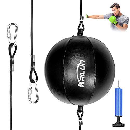 Xionghonglong Doppelendball,Punchingball Boxen,Punchingball Boxbirne,Boxbirne Set,Training Speedball Set,Durchmesser Boxball,Boxing Speed Bags, für Boxtraining (A)