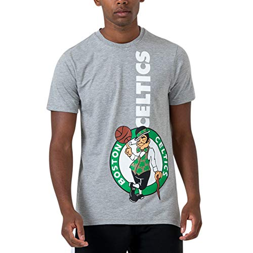 A NEW ERA Camiseta NBA Boston Celtics Team Gris S (Small)