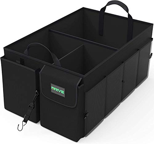 Our #1 Pick is the Drive Auto Products Car Cargo Trunk Organizer