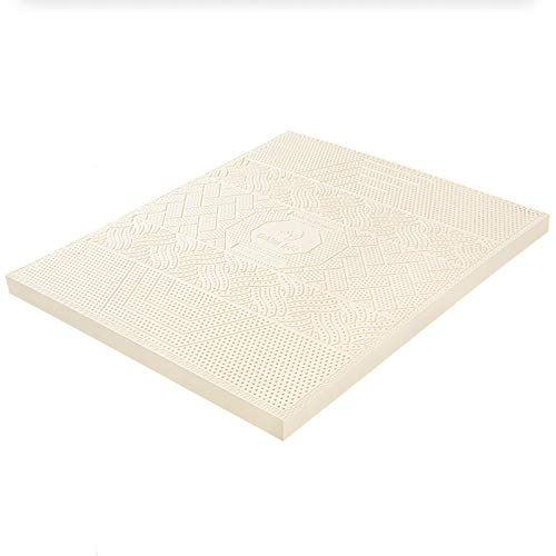 haozai Latex Mattress,Comfortable And Breathable,High Elasticity And Compression,Honeycomb Breathable Structure,Double Layer Mattress Pad,Natural Latex Mattress