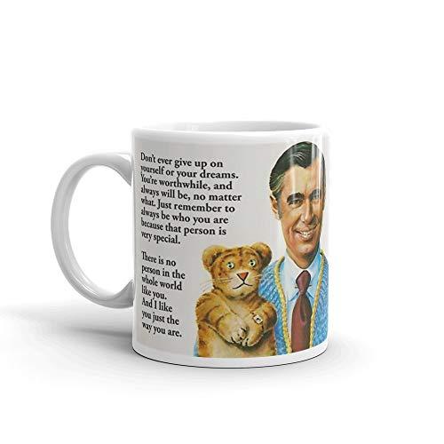 Mr Rogers Inspiring Quotes 11 Oz Ceramic