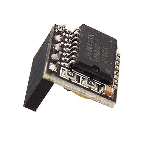 weichuang Elektronisches Zubehör DS3231 Uhrmodul, 3,3 V / 5 V, hohe Genauigkeit für RPi Elektronik-Zubehör, Elektronik-Zubehör, 5 Stück