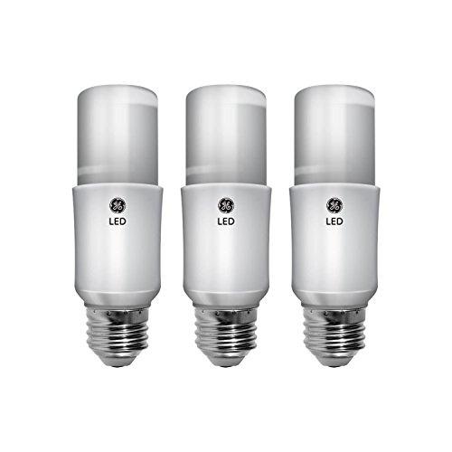 GE LED Bright Stik Light Bulbs, General Purpose (60 Watt Replacement LED Light Bulbs), 800 Lumen, Medium Base Light Bulbs, Soft White, 3-Pack LED Bulbs