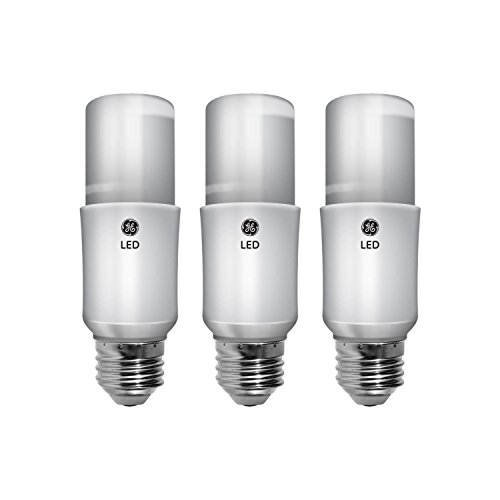 GE Lighting 63589 LED Brightstik 9-watt (60-watt Replacement), 800-Lumen Light Bulb with Medium Base, Soft White, 3-Pack