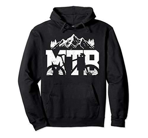 MTB Mountainbike Fahrrad Radsport Mountainbiker Geschenk Pullover Hoodie