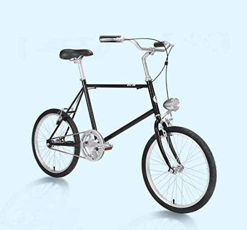 AISHFP 20Inch Adult Lightweight Retro Commuter Bike, City Electroplating Road Bikes, Women Student Casual Bicycle,B