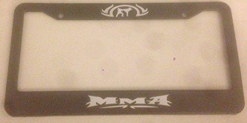 mma license plate frame - 8