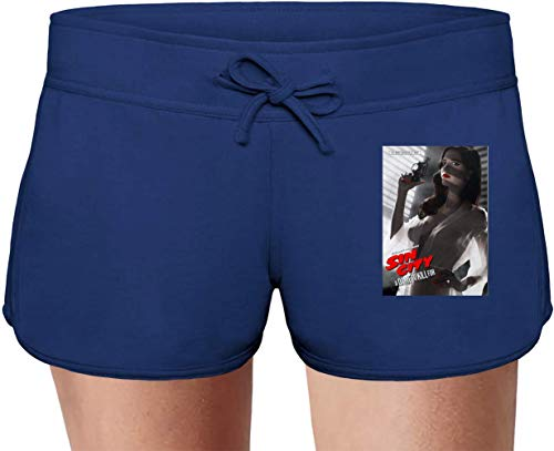 Movie Stars Merchandise Sin City A Dame to Kill For Summer Sweat Shorts For Women & Ladies | 80% Cotton-20% Polyester Fashion Unique & Custom Briefs, Bermudas, Underpants, Slacks & Sports Clothing by