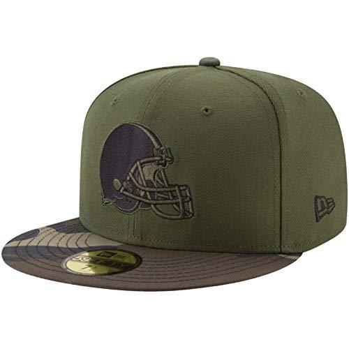 New Era 59Fifty Cap Cleveland Browns - Gorro de Lana, diseño de Camuflaje