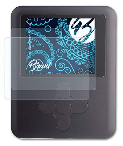 브루니 화면 보호기 호환 BTOPLLC MP3 플레이어 16 기가바이트 보호 필름 크리스탈 클리어 보호 필름(배)