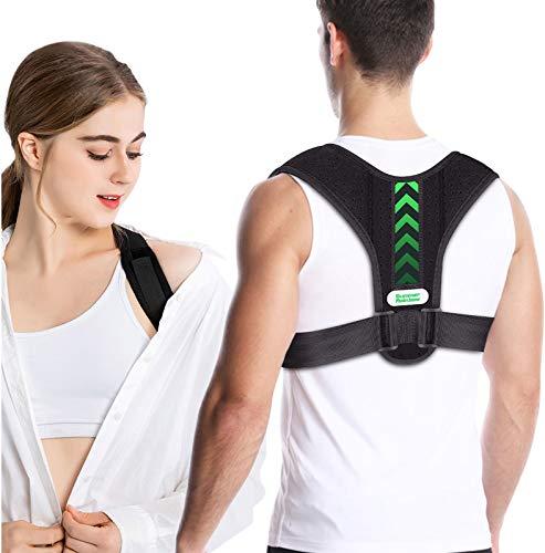 Posture Corrector for Men and Women, Back Brace, Adjustable Back Straightener...