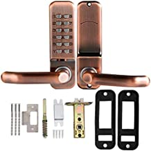 Tucson Mechanische Smart Digitale Drukknop Deurslot Home Toetsenbord Code Wachtwoord Combinatie Slot Waterdicht Zinklegeri...