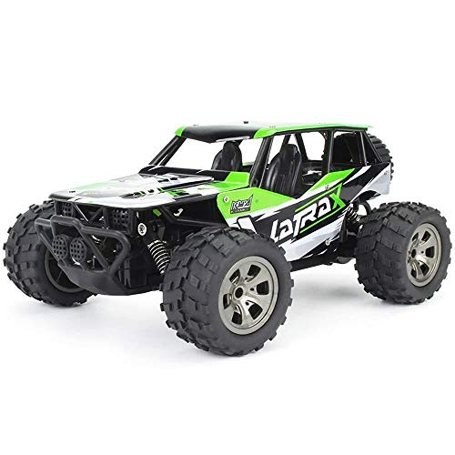 ADLIN Terrain Rc Cars, 2,4 GHz Super-kollisionssicherere Fernbedienung Auto-Akku, High-Speed-Buggy Monster Truck Crawler, Einzelradaufhängung, Geschenk for Kinder EIN