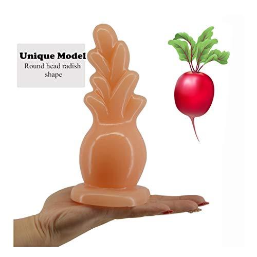JTQMDD Fühlen Sie Sich wie die gleiche komfortable Silikon-anale Pl-UG großer Hintern Pl-UG anale Dilator Saugnapf Huge anale Spielwaren for Frauen - Unsere Begegnung ist EIN Geheimnis