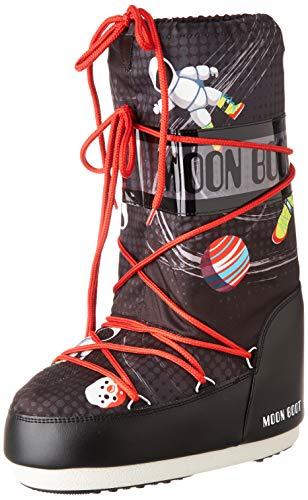 Moon-boot Jr by Space Man, Bottes de Neige Garçon, Multicolore (Multicolor 001), 23 EU