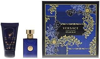 Versace Pour Homme Dylan Blue Eau De Toilette 100Ml And Perfumed Bath & Shower Gel 150Ml Giftset for Men