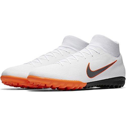 Nike Unisex-Erwachsene Mercurial Superfly X 6 Academy TF AH7370 Fußballschuhe, Mehrfarbig (Indigo 001), 42.5 EU