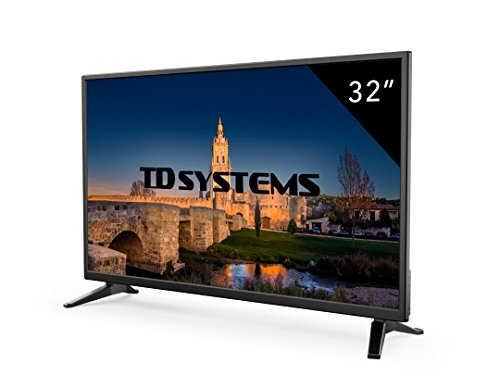 Televisor Led 32 Pulgadas HD, TD Systems K32DLM7H. Resolución 1366 x 768, 3X...