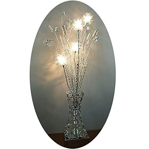 Stehleuchte Vasenleuchte Dahlia 4 flammig Bodenleuchte Standleuchte Dekolampe