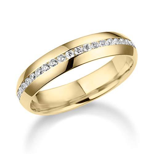 Juwelier Rubin Oro Amarillo 8 Quilates (333) Brilliantschliff Blanco