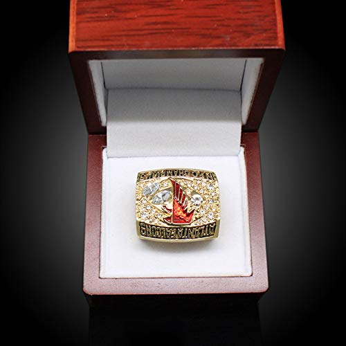 WANZIJING Atlanta Falcons-Meisterschaft-Ring 2016 NFC Champion Super Bowl Ringe Replik für Fans Andenken-Geschenk-Sammlung,with Box