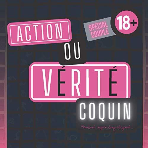 Action ou vérité coquin: Jeu de sexe original pour couple I Version HOT I Cadeau original Homme ou Femme