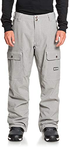 DC Code Mens Snowboard Pants Frost Grey Sz XL