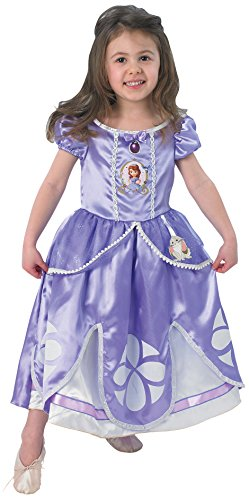 Rubie's-déguisement officiel - Sofia The First - Costume Panoplie Luxe - Taille Tod 2-3 ans- 154980TOD