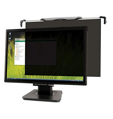 Kensington FS240 Snap2 Privacy Screen for 22-Inch to 24-Inch Widescreen 16:10 and 16:9 Monitors (K55315WW),Black