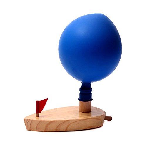 Bazaar Enfants Balle Ballon propulsé Bateau Enfants Apprentissage Jouet en Bois Classic Cadeaux de Salle de Bain