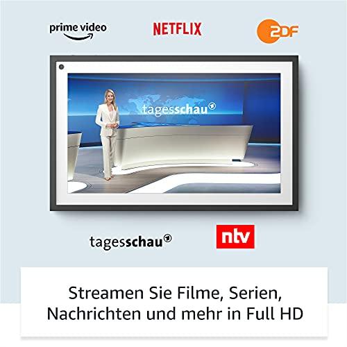 Wir stellen vor: Echo Show 15   15,6-Zoll-Smart Display in Full HD, für ein organisiertes Familienleben mit Alexa