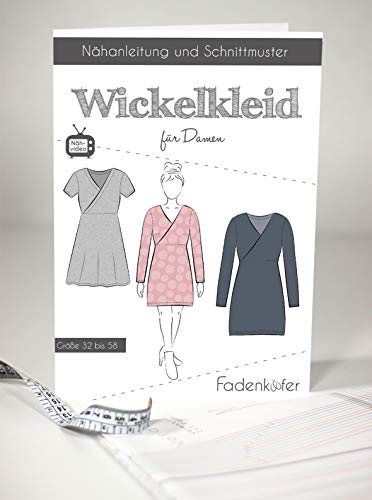 Schnittmuster und Nähanleitung - Damen Wickelkleid