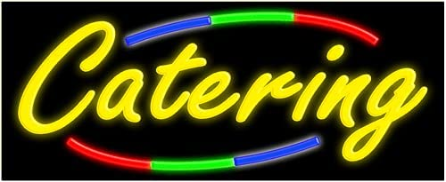 Popular popular Fashionable Catering Glass neon Sign in Made #10763 USA