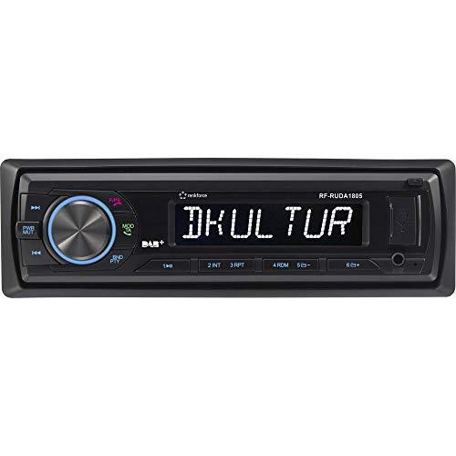 Renkforce RUDAB-1805 Autoradio DAB+ Tuner, inkl. DAB-Antenne, Bluetooth®-Freisprecheinrichtung