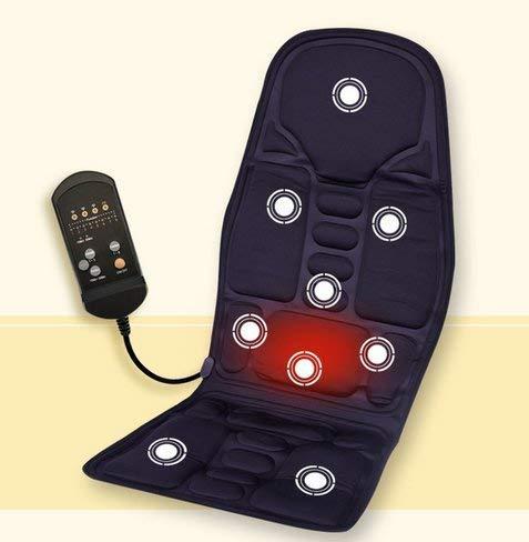 Hancend Massagesitzauflage Shiatsu Massageauflage Heizkissen, Rückenmassagegerät für Stühle, Massagematte zur Linderung von Rückenschmerzen Frauen, Männer