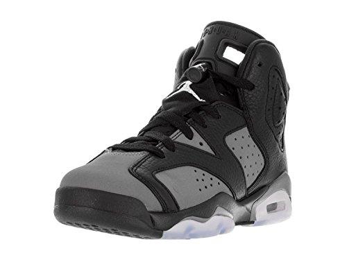 Nike Nike Jungen Black/White Basketballschuhe, Schwarz (Schwarz/Weiß-Cool Grey), 38.5 EU