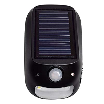 Hoover LED Dual Mode Security Light with Solar and Battery Power (3-pack)