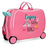Roll Road Little Things Equipaje infantil, 50 cm, 34 litros, Rosa