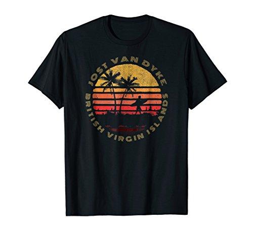 Jost Van Dyke, BVI - British Virgin Islands Souvenir T-Shirt