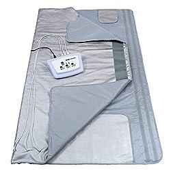 Gizmo Supply 3 Zone Digital Far-Infrared Heat Sauna Blanket v3 (Large)