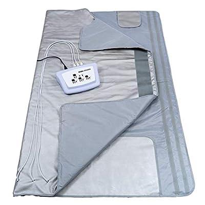 Gizmo Supply 3 Zone Digital Far-Infrared (FIR) Heat Sauna Blanket v3 Large