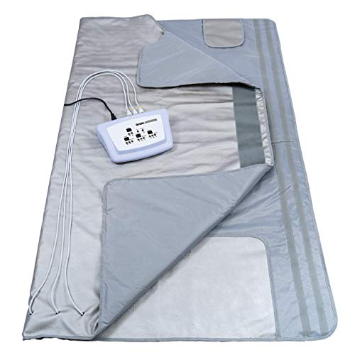 Gizmo Supply 3 Zone Digital Far-Infrared Heat Sauna Blanket v3 (Regular)