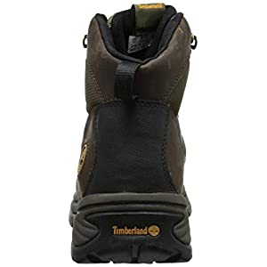 Timberland Men's Chocorua Trail Mid Waterproof Hiking Boot, Brown/Green, 12 EE-Wide