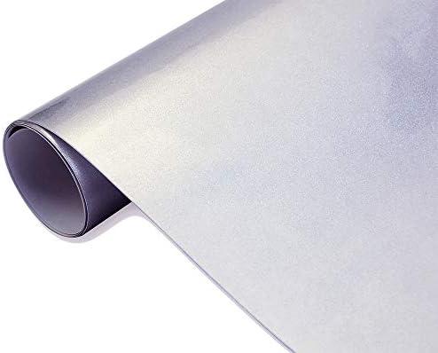 Neoxxim 24 22 M2 Premium Auto Folie Hochglanz Metallic Grau 30 X 150 Cm Folie Blasenfrei Mit Luftkanälen Ca 0 16mm Dick Selbstklebend Flexibel Küche Haushalt